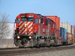CP 6007 NS23t comes off the connector on its way to Chi town